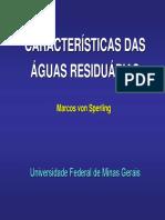 Características de Águas Residuais