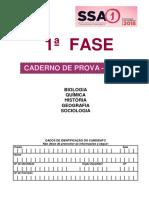 Caderno de Provas Vestibular SSA 1 UPE - 2º Dia