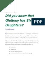 Gluttony Notes