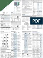 UEM80 D M UEM80 4D R UEM80 4D E Multilingual Manual v002 IE
