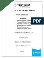 Taller Electromecánico-Informe Gr3