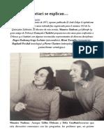 Deleuze y Guattari Se Explican…