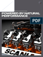 Scania Power Generation Gas Engine Range Brochure