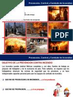 Prevencion Control y Combate de Incendios