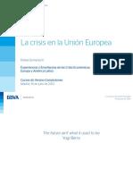 Crisis Economica Europea