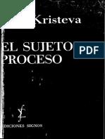 (Serie Semiotica) Julia Kristeva-El sujeto en proceso-Ediciones Signos (1972).pdf