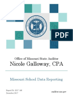 Missouri School Data Audit