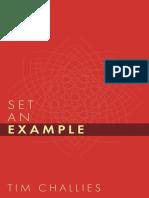 SAMPLE - Set an Example.Tim Challes.cruciform Press