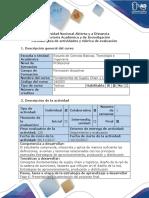 Guía de actividades  y Rubrica de evaluación - fase 6 Presentación y sustentación del proyecto final