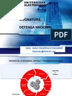 Defensa Nacional- Conflictos