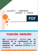 7.Funciones Hidrogenadas Acidos
