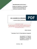 1996 Limonad Os Lugares Da Urbanizacao