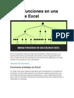 Varias Funciones en Una Celda de Excel
