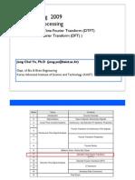Sampling Theory and Discrete Time Fourier Transform
