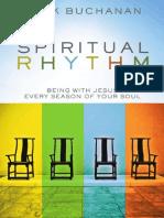 Spiritual Rhythm by Mark Buchanan, Excerpt