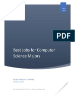 best jobs for computer science majors