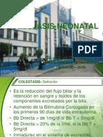 Colestasis Neonatal 1