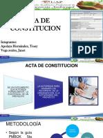 Acta de Constitucion-Vega