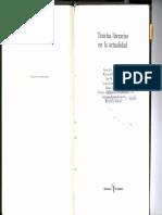 Walter Mignolo, Teorias Literarias o Teorías de La Literatura