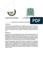 US UK Geoengineering Joint Statement
