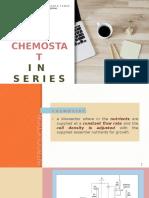 Chemostat in Series