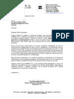 Carta Para Regiòn Tacna