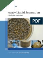 Heavy Liquid Separation