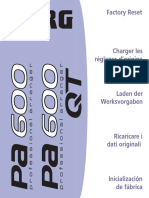 Pa600 Factory Reset (EFGIS)