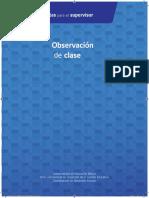 Manual Herramienta Observación de Clase