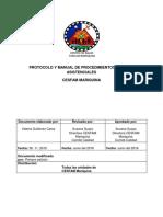 Protocolo Procedimientos Clinicos Asistenciales 2016