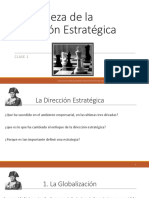 1 Presentacion - Naturaleza de La Direccion Estrategica