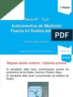 MECANICA DE FLUIDOS - SESION  5 y 6 -MANOMETROS . FLOTACION (1).pptx