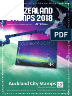 ACS NZ Stamp Catalogue 2018