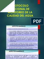 Protocolo Nacional de Monitoreo de La Calidad Del agua