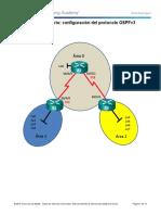 9.2.2.9 Lab - Configuring Multiarea OSPFv3 Nn