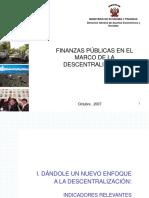 Descentralización y Reglas Fiscales- AYACUCHO