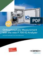 Analizador de OrtoFosfato WTW-Sistema IQ Sensor Net