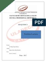 Enzima Lactosa