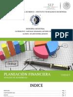 Planeacion Financiera UNIDAD V