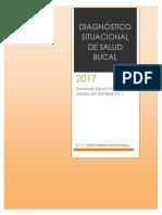 Diagnóstico Situacional de Salud Bucal 2017 Jiquipilas