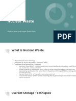nuclear waste capstone