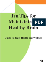 10 Tips for a Healthy Brain