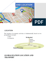 Transport and Location