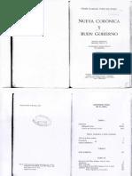 2) Felipe Guamán Poma - Nueva Corónica y Buen Gobierno