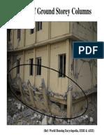 Failures of Ground Storey Columns