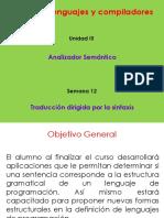 S12 - 1 Traduccion Dirigida Por La Sintaxis