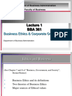 Lecture 1 Foundation of Business Ethics