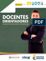 Descripción Preliminar de Niveles de Desempeño Orientadores ECDF