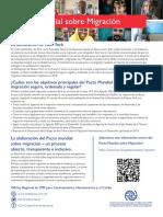 Pacto Mundial Sobre Migracion