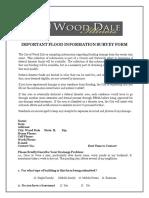 Flood Survey Form